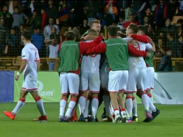 视频-直布罗陀取得正式比赛首胜 全队疯狂拥抱庆祝