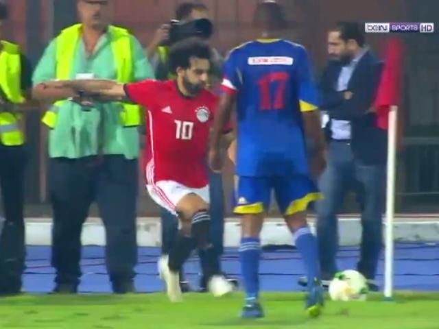 视频-非洲杯预选赛技惊四座 萨拉赫角球破门完整版
