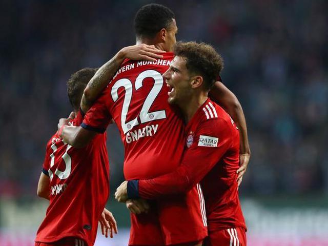 拜仁2-1力克不莱梅