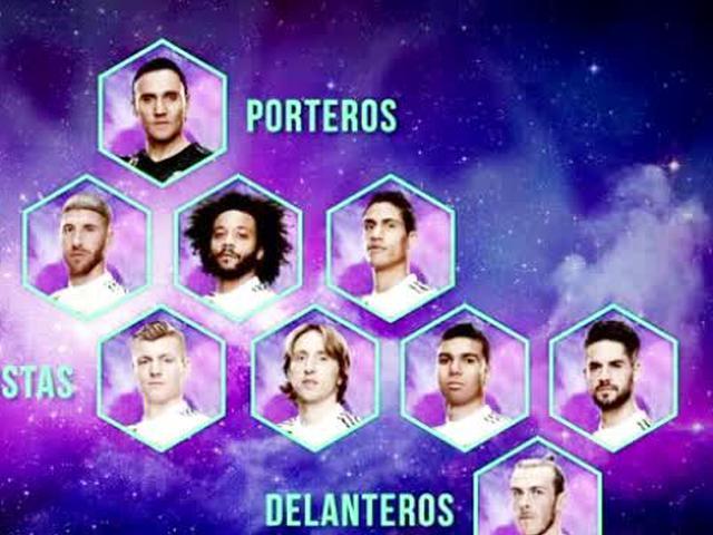 视频-年度最佳阵容50人候选名单 皇马9名球员入选
