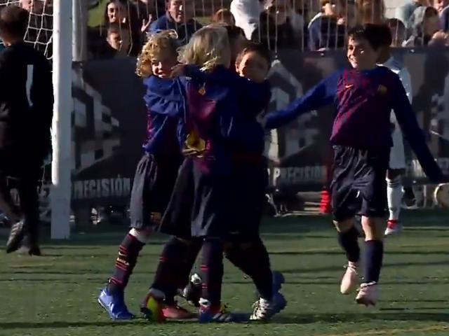 视频-曼努埃尔卢克杯 拉玛西亚U10A6-1皇马U10夺冠