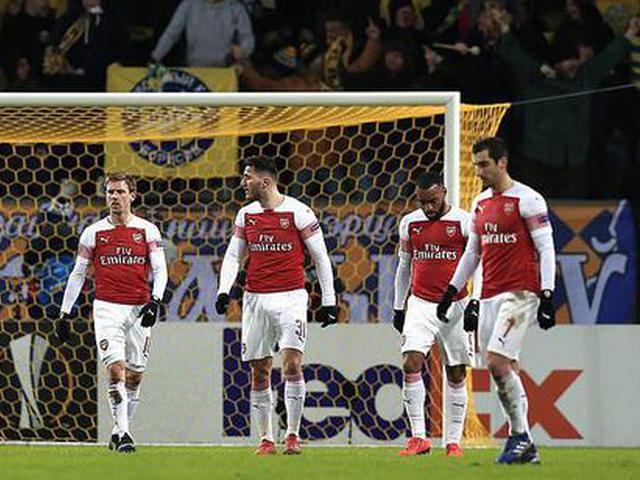 视频-欧联杯:拉卡泽特染红 阿森纳爆冷输球