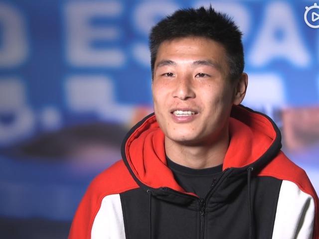 视频-武磊:队友教练都很照顾我 动力要多于压力