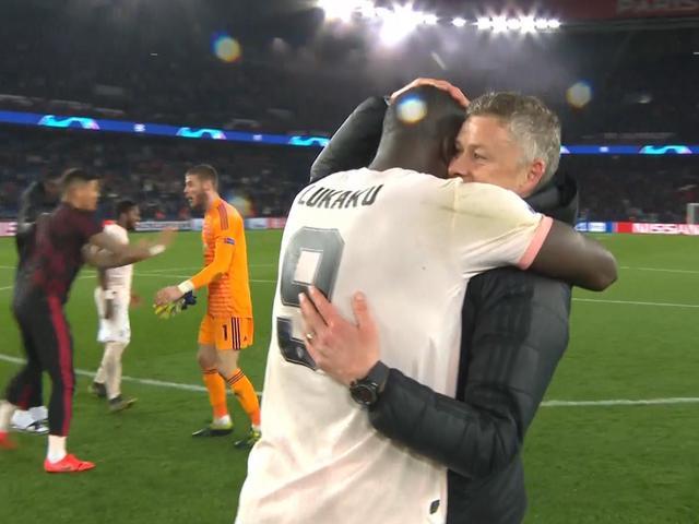 视频-曼联3比1巴黎上演大逆转 赛后全队狂奔庆祝