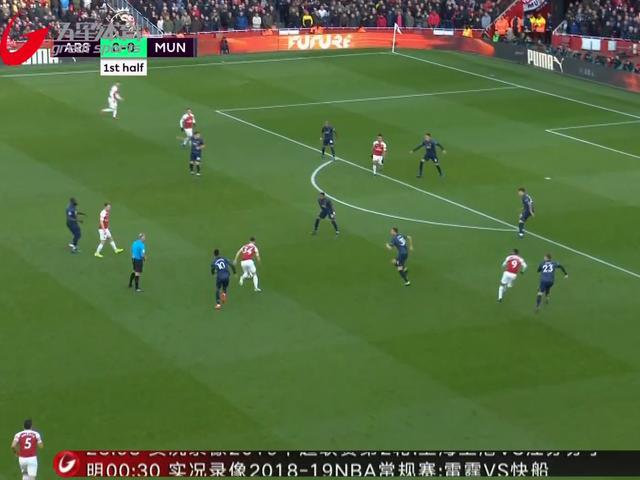 视频-英超强强对话:争四关键战 阿森纳力克曼联