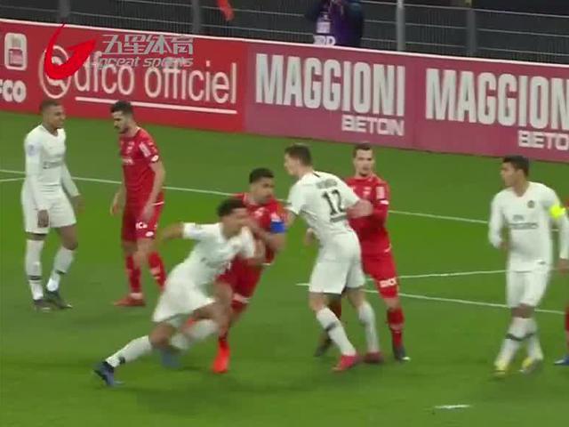 视频-法甲第18轮大巴黎四球完胜第戎 联赛轻松领跑