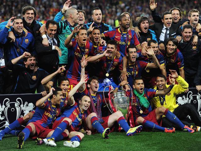 视频-回顾10/11欧冠决赛 梅西破门巴萨3-1曼联夺冠