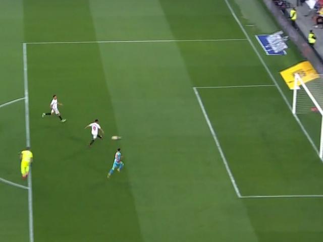 视频-穆尼尔独中两元 塞维利亚五球完胜巴列卡诺