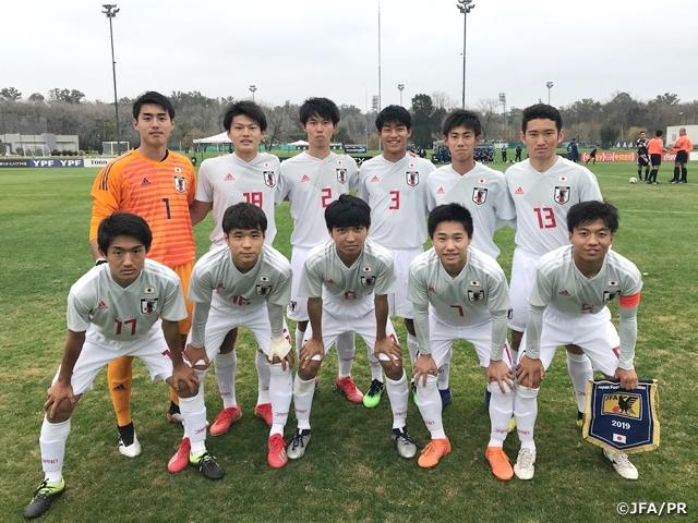 日本U17出场阵容