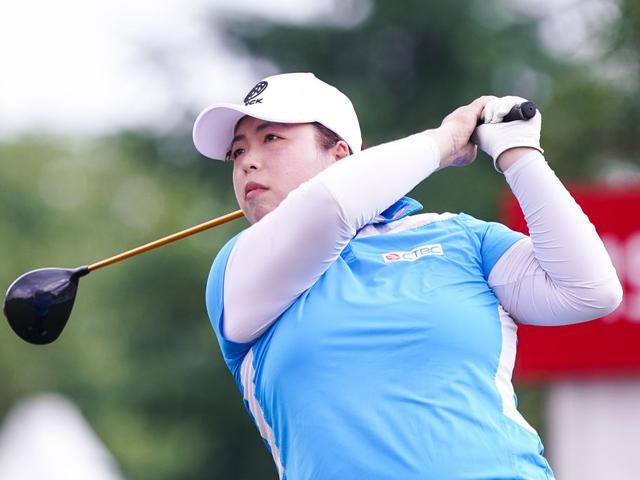 别克LPGA赛首轮冯珊珊集锦