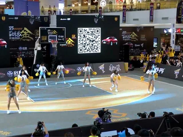 视频-3X3总决赛开场预热 PG24啦啦队带来曼妙舞姿
