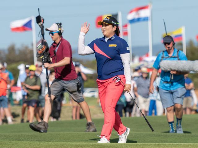 视频-澳洲女子公开赛决赛轮集锦 朴仁妃赢第20冠