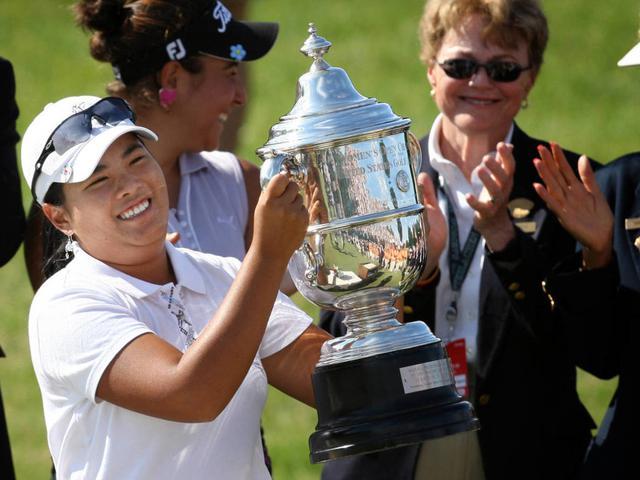 视频-2008年美国女子公开赛 朴仁妃成最年轻冠军