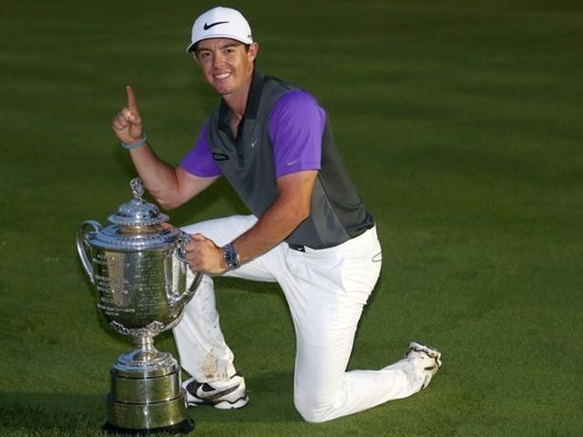 麦克罗伊PGA锦标赛精彩集锦
