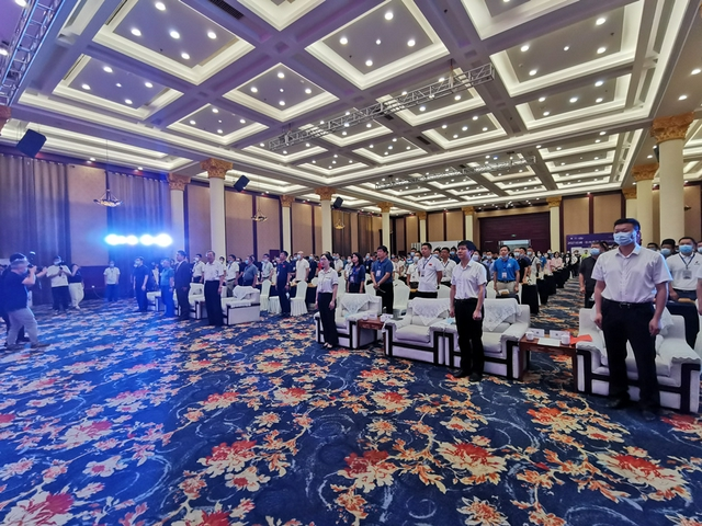 视频-围棋之乡联赛衢州隆重开幕 开场奏国歌