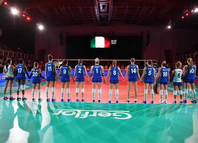 意大利女排公布28人名单 埃格努领衔年轻阵容