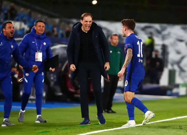 欧冠-普利希奇头筹本泽马扳平 皇马主场1-1切尔西