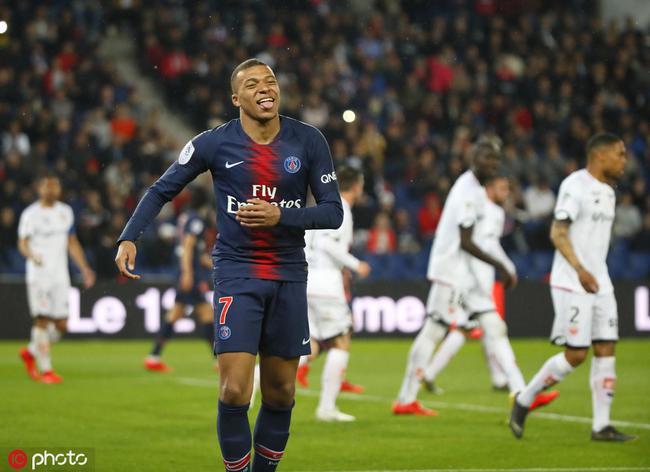 法甲-姆巴佩复出两球迪马利亚传射 巴黎4-0两连胜