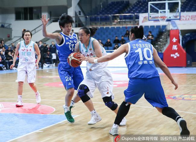 北京女篮击败了辽宁