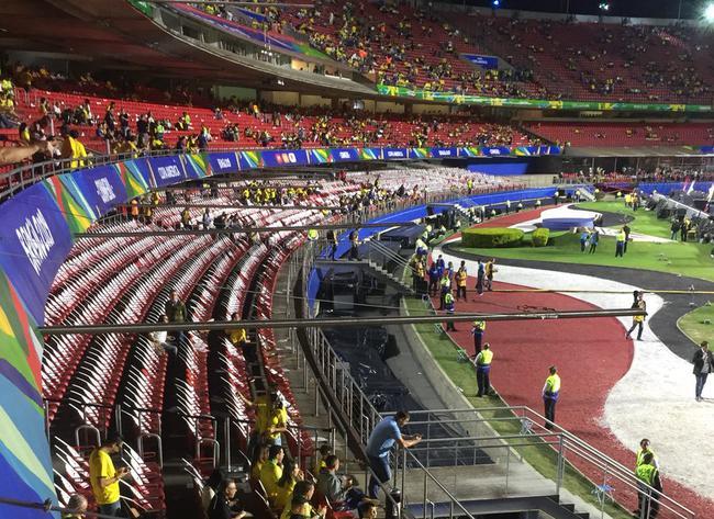 美洲杯揭幕战巴西首发:库鸟领衔 菲尔米诺箭头