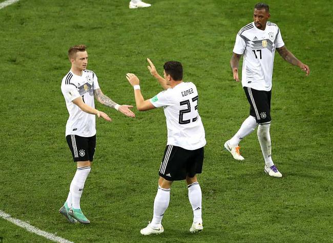 2018年6月24日世界杯F组 德国vs瑞典 - 战报[视频]