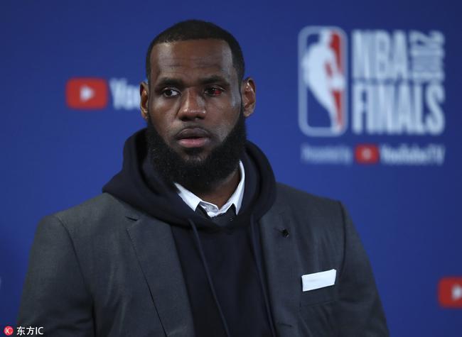 NBA头号大嘴又喷湖人!搞来詹姆斯这夏天也失败