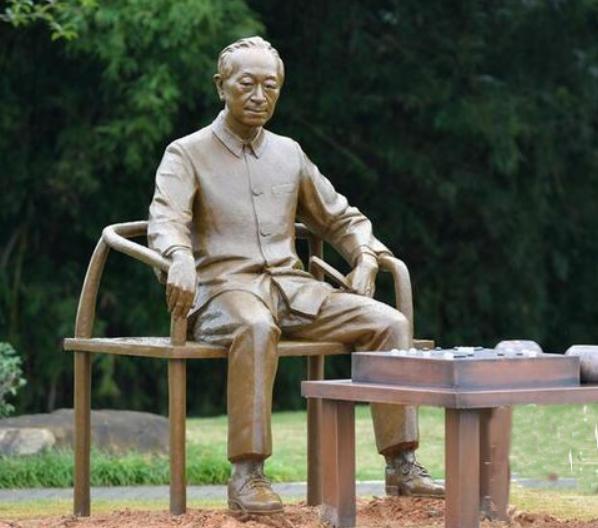 吴清源纪念园中的吴清源铜像