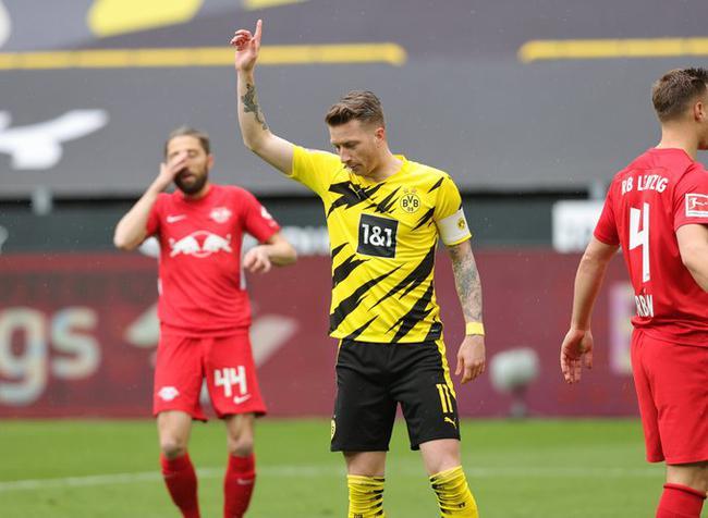 德甲-多特蒙德3-2绝杀莱比锡 拜仁提前3轮夺9连冠
