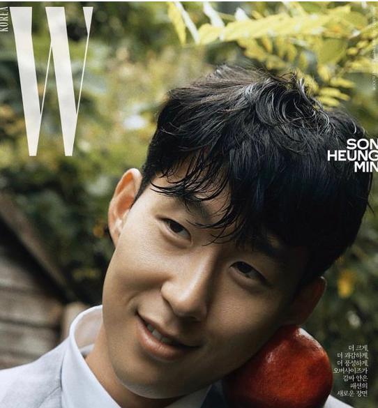 帅气欧巴!孙兴慜为韩国杂志拍摄西装照