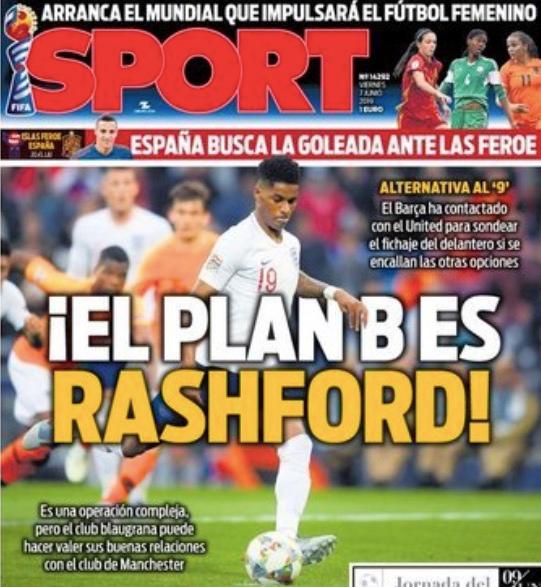 《每日体育报。》头版