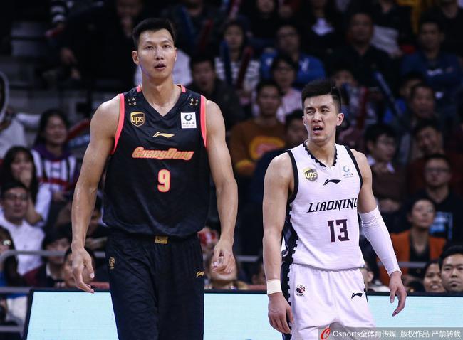 广东辽宁是本赛季表示最突出的两支球队