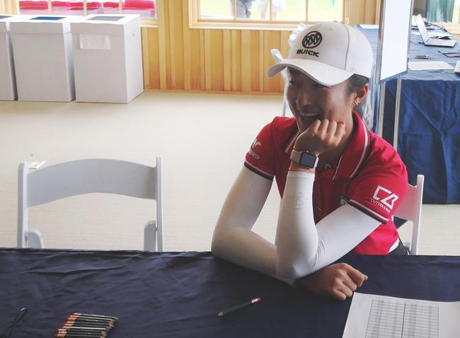 美国女子PGA锦标赛刘钰强势反弹 红字收官升至T43