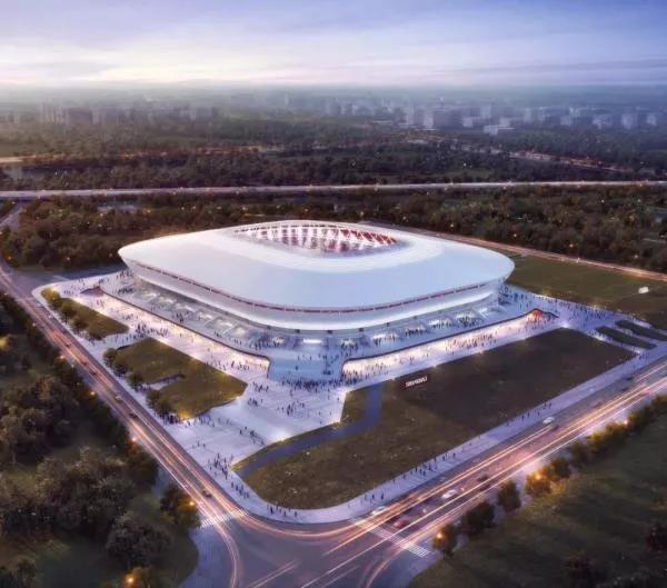 """上港新球场2021年竣工 工体这所""""四合院""""也将升级?"""