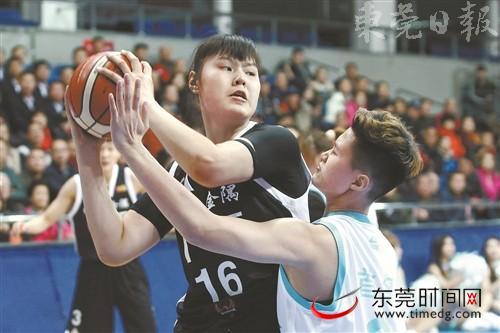 广东女篮将在半决赛对阵北京