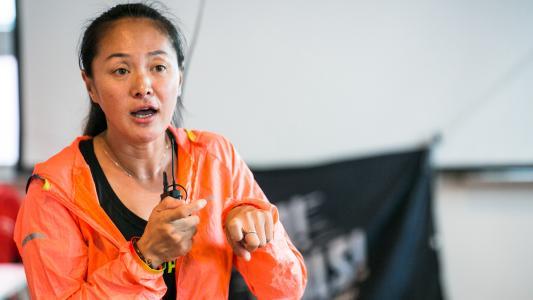 贵在坚持马拉松世界冠军在千岛湖公益授课