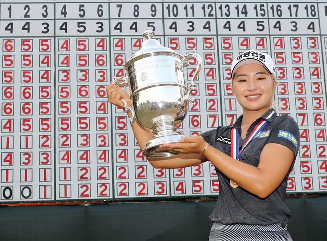 李晶恩赢得美国女子公开赛
