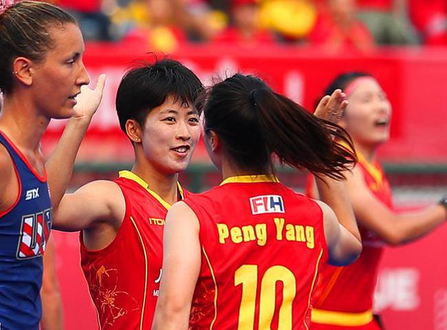 中国女曲4-0美国