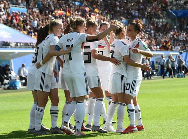 女足世界杯-德国3比0胜尼日利亚 八届世界杯皆进八强