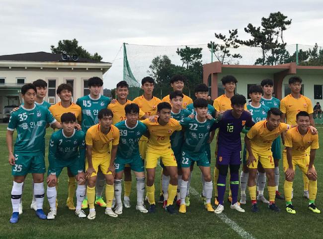 热身-刘若钒89分钟绝杀!U19国青1-0韩国龙仁大学