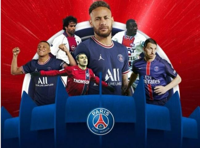 大巴黎发布新海报  梅西处C位姆巴佩仅位列第三