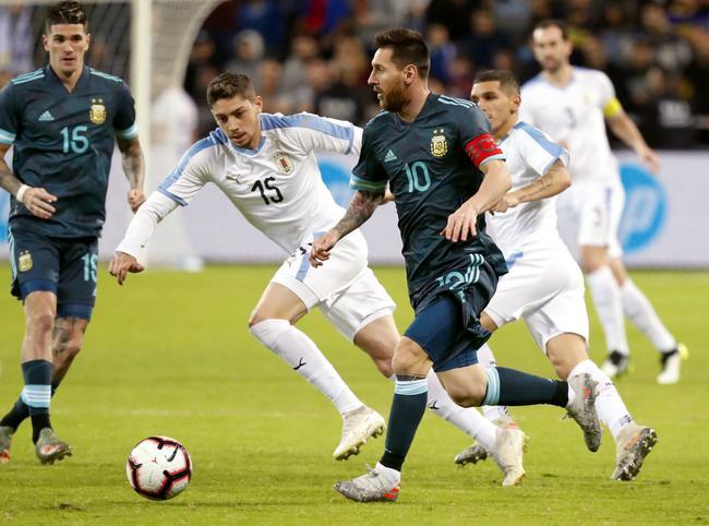 阿根廷2-2乌拉圭