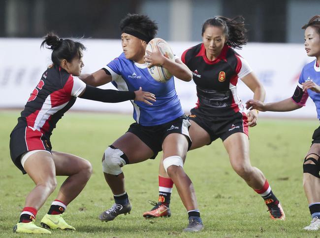 全国英式7人制橄榄球冠军赛落幕 山东男女队夺冠