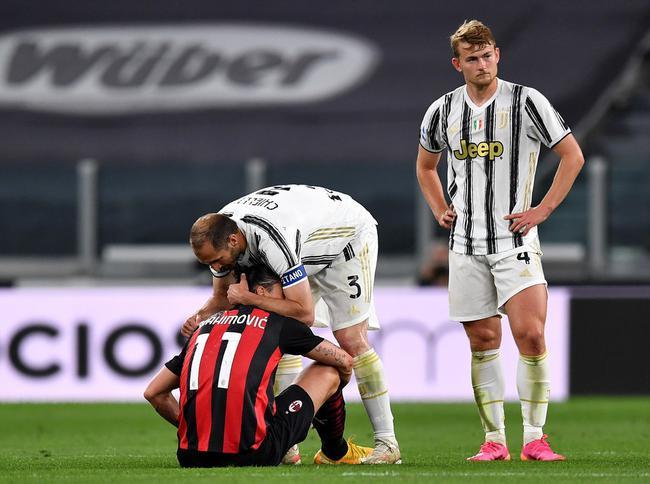 伊布伤退或影响备战欧洲杯 皮奥利:他不惜代价踢尤文