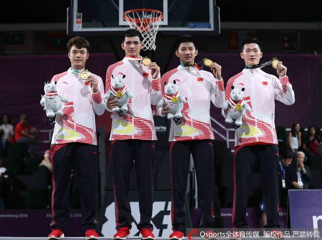 中国男队勇夺亚运3X3篮球冠军