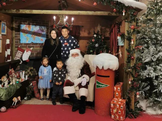 武磊跟他的家人