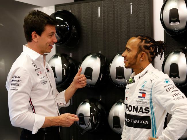 F1| 沃尔夫:汉密尔顿不应该把未来建立在我身上