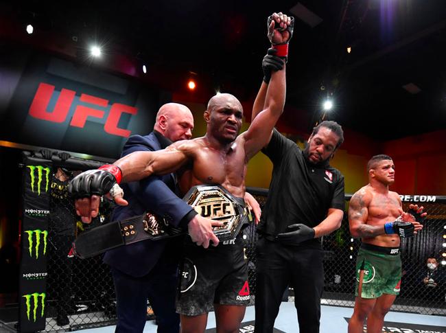 UFC258综述:乌斯曼TKO终结伯恩斯延续冠军统治