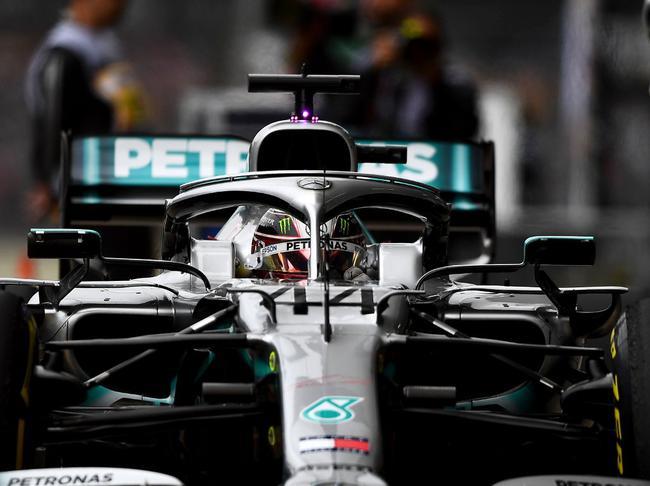 F1巴西站第3次演习:汉密尔顿霸榜