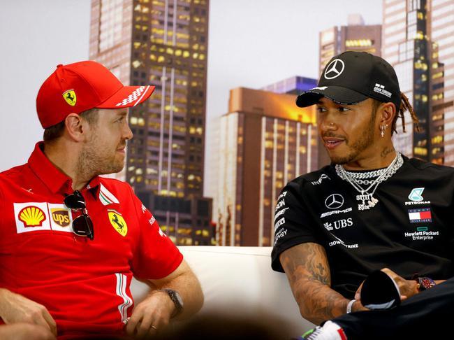 F1| 汉密尔顿:希望看到维特尔加盟赛点