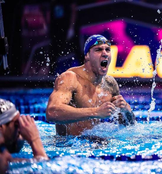 德雷塞尔破短池百米混合泳世界纪录